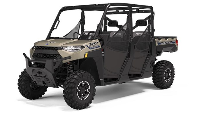 2020 Polaris RANGER CREW XP 1000 Premium Sand Metallic Photo 1 of 18