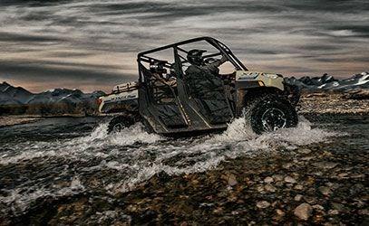 2020 Polaris RANGER CREW XP 1000 Premium Sand Metallic Photo 12 of 18