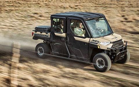 2020 Polaris RANGER CREW XP 1000 Premium Sand Metallic Photo 15 of 18