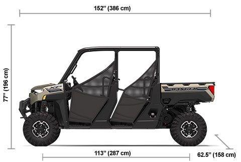 2020 Polaris RANGER CREW XP 1000 Premium Sand Metallic Photo 18 of 18