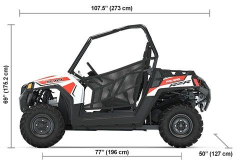 2020 Polaris RZR 570 White Photo 9 of 9