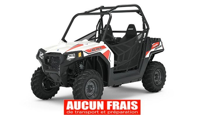 2020 Polaris RZR 570 White Photo 1 of 9