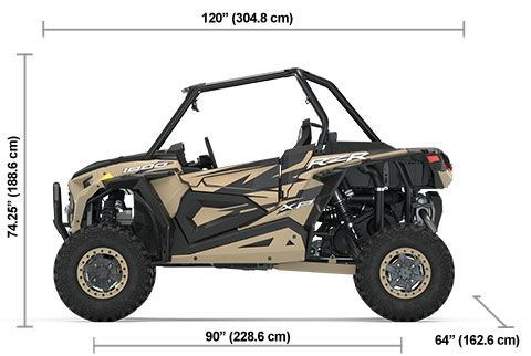 2020 Polaris RZR XP 1000 Trails et Rocks Military Tan Photo 6 of 6