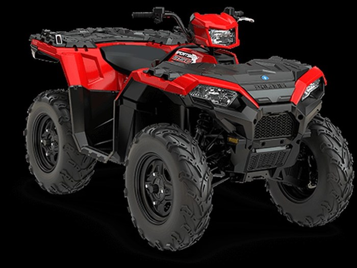 2018 Polaris SPORTSMAN 850 INDY RED Photo 2 of 10
