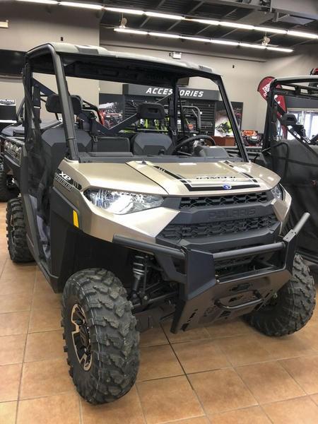 2018 Polaris Ranger XP® 1000 EPS Suede Metallic Photo 1 of 11
