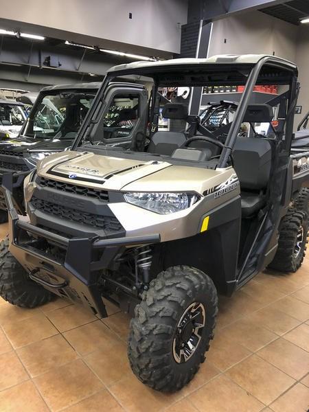 2018 Polaris Ranger XP® 1000 EPS Suede Metallic Photo 2 of 11