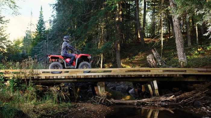 2020 Honda TRX420 DCT IRS EPS - ROUGE PATRIOTE Photo 1 of 1