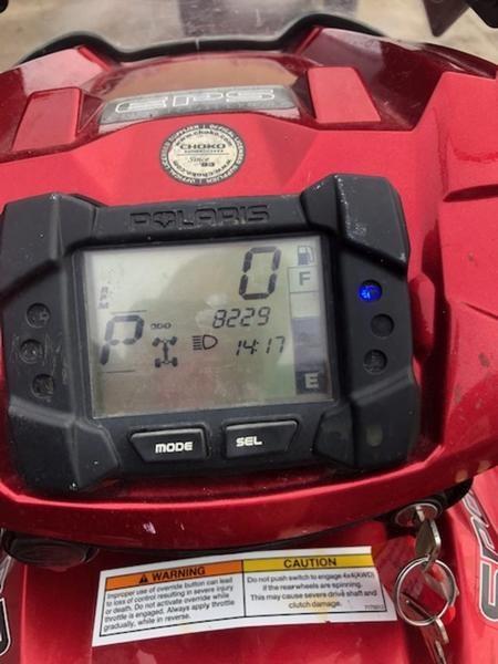 2009 Polaris 550 XP EPS Photo 6 of 6