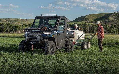 2020 Polaris RANGER XP 1000 Premium Steel Blue Metallic Photo 16 of 19