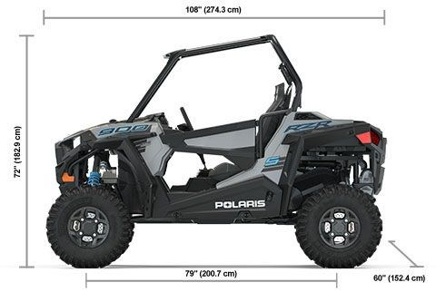 2020 Polaris RZR S 900 Premium Turbo Silver Photo 11 of 11