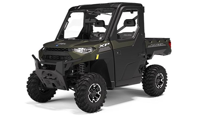 2020 Polaris RANGER XP 1000 NorthStar Edition Matte Sage Green Photo 1 of 19