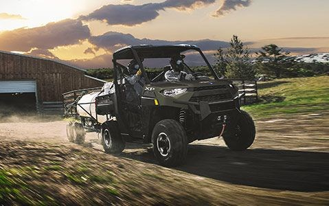 2020 Polaris RANGER XP 1000 NorthStar Edition Matte Sage Green Photo 4 of 19