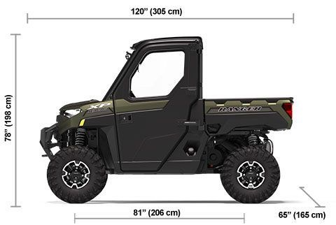 2020 Polaris RANGER XP 1000 NorthStar Edition Matte Sage Green Photo 19 of 19