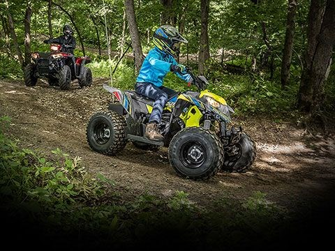 2020 Polaris Outlaw 110 Avalanche Gray/Lime Squeeze Photo 5 of 5