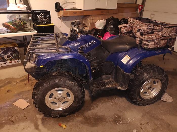 2005 Yamaha Kodiak 400 independent suspension Photo 1 of 3