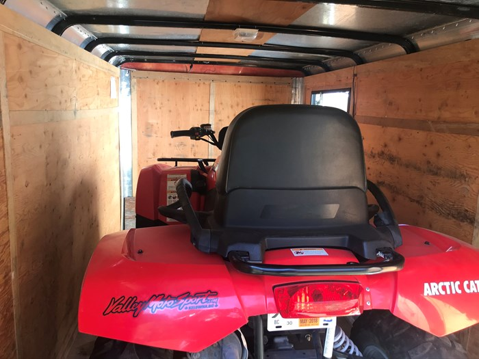 2013 Artic cat TRV 500 R two up Photo 3 of 4