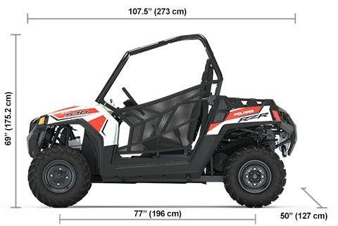 2020 Polaris RZR 570 White Photo 9 of 9