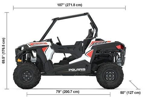 2020 Polaris RZR 900 White Photo 11 of 11
