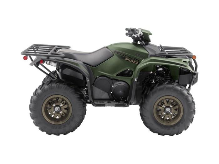 2021 Yamaha Kodiak 700 EPS SE Covert Green Photo 2 of 7