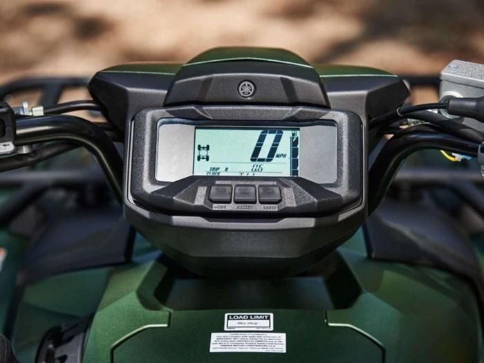 2021 Yamaha Kodiak 700 EPS SE Covert Green Photo 3 of 7