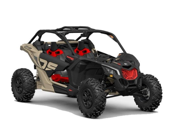 2021 Can-Am Maverick X3 X ds Turbo RR Desert Tan / Carbon B... Photo 1 sur 3