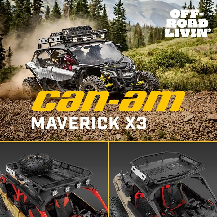 2021 Can-Am Maverick X3 X ds Turbo RR Desert Tan / Carbon B... Photo 3 sur 3