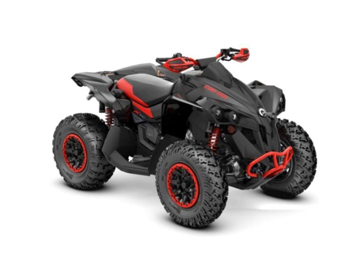 2021 Can-Am Renegade X xc 1000R Carbon Black & Can-Am Red Photo 1 of 2