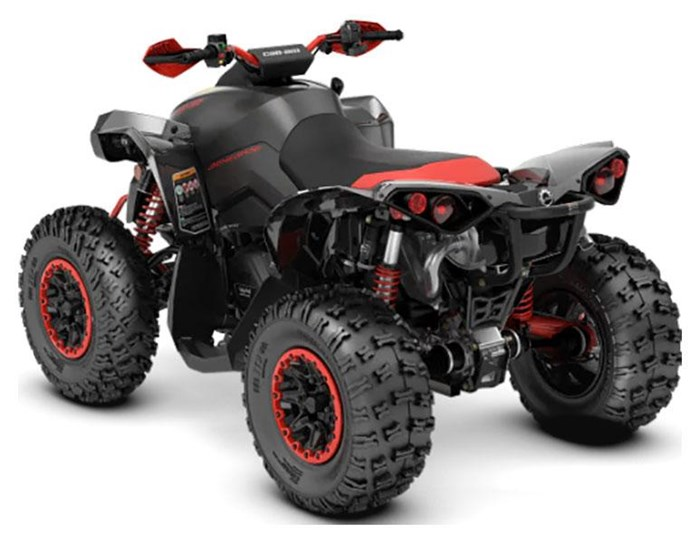 2021 Can-Am Renegade X xc 1000R Carbon Black & Can-Am Red Photo 2 of 2
