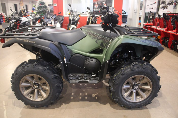 2021 Yamaha Kodiak 700 EPS SE Covert Green Photo 7 of 9