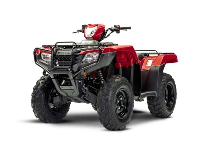 2021 Honda TRX520 Foreman Photo 1 of 1