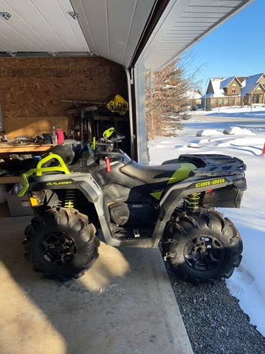 2020 Can-Am Outlander 650 XMR Photo 2 of 5