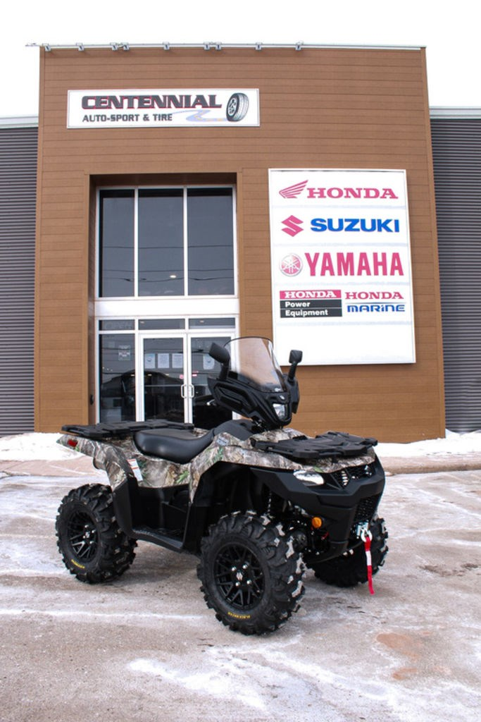 2021 Suzuki KingQuad LT-A500XPZC Camo Photo 1 of 13