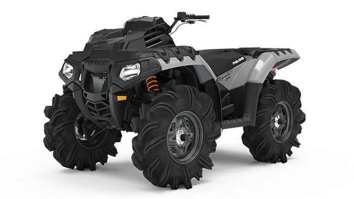 2021 Polaris Sportsman 850 High Lifter Ghost Gray Photo 1 of 9