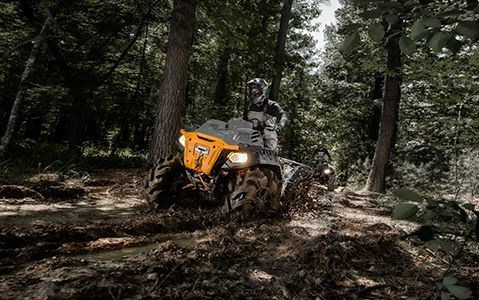2021 Polaris Sportsman 850 High Lifter Ghost Gray Photo 2 of 9