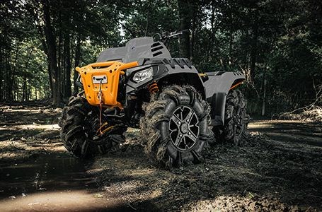 2021 Polaris Sportsman 850 High Lifter Ghost Gray Photo 5 of 9