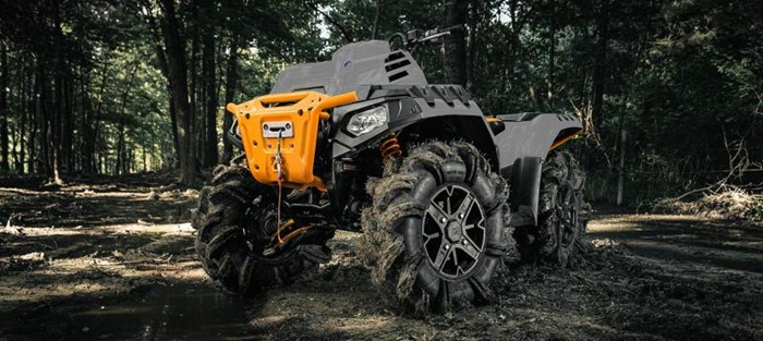 2021 Polaris Sportsman 850 High Lifter Ghost Gray Photo 8 of 9