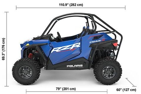 2021 Polaris RZR Trail S 1000 Premium Photo 2 of 2