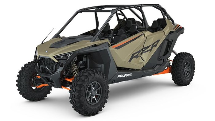 2021 Polaris RZR PRO XP 4 Premium Matte Sands Metallic Photo 1 of 2