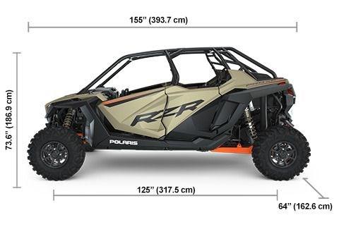 2021 Polaris RZR PRO XP 4 Premium Matte Sands Metallic Photo 2 of 2