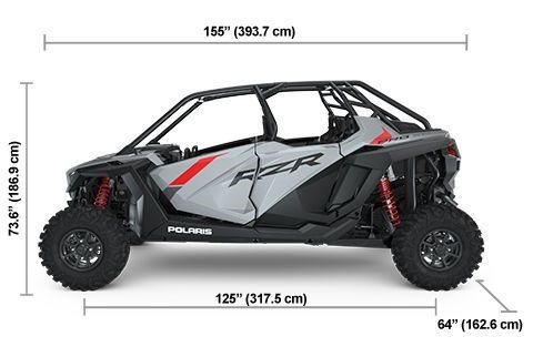 2021 Polaris RZR PRO XP 4 Sport Rockford Fosgate LE Vogue Silve Photo 2 of 2